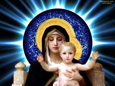THÁNH MARIA, ÐỨC MẸ CHÚA TRỜI. Ngày thế giới hòa bình, ngày 01/01.